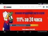 Обзор высокодоходного проекта SCROOGE + 11 за 24 часа
