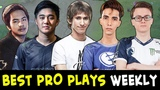 Best PRO plays of the week #16 Dendi, Miracle, InYourDream, Abed