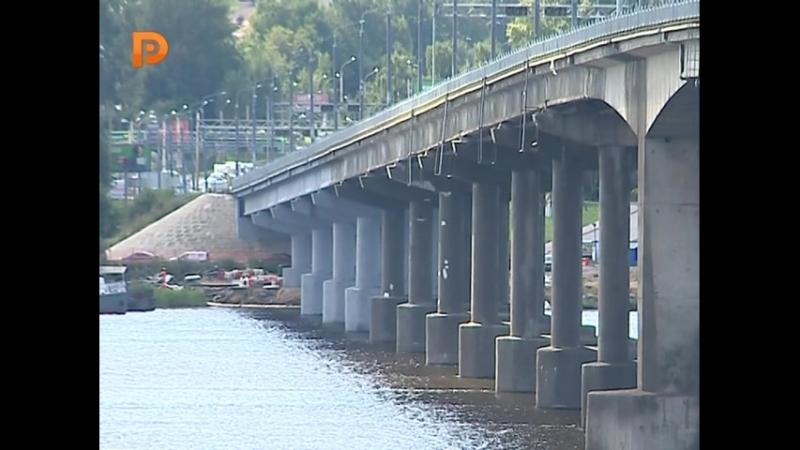 Объект будет сдан в срок. В Костроме продолжается ремонт моста через Волгу