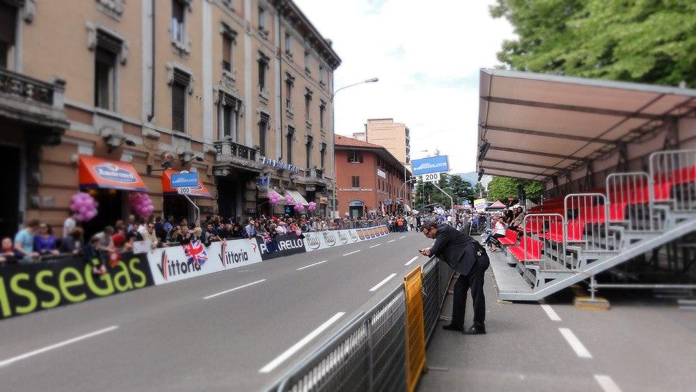 Трибуны Giro d'Italia
