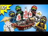 Lego Ninjago Movie: DESTINYs BOUNTY 70618 Animation & Speed Build
