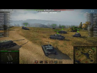 Как правильно не фига не делать в бою (перезалив).World of tanks