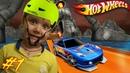 Гонки на КРуТых тачках в Hot Wheels прохождение игры от канала Волчок топ мульт игры про машинки👍
