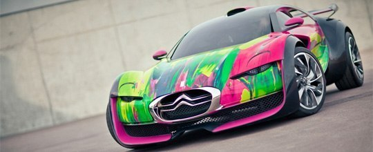 Citroen Survolt Art Car. Как вам?