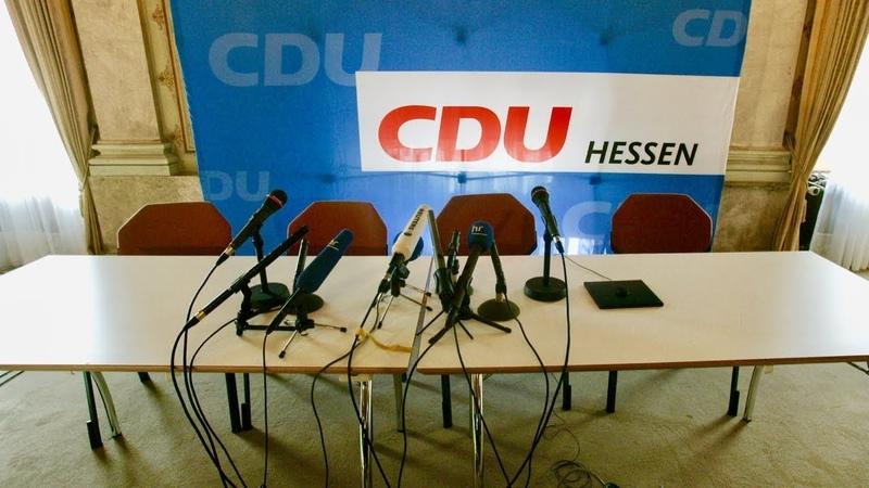 CDU Hessen: Affäre um illegale Parteienfinanzierung möglich