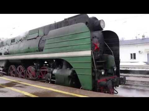 Ретропоезд П36-0120 во Владимире