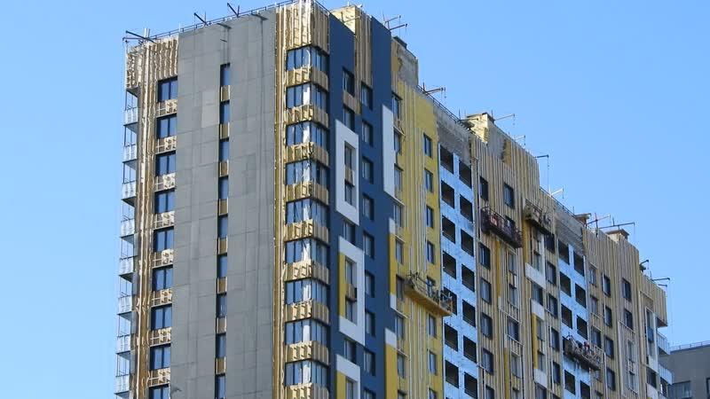 Etalonsadforum.com: ЖК Летний сад - готовность корпуса 2б по фасадам, обзор со стороны Дмитровки