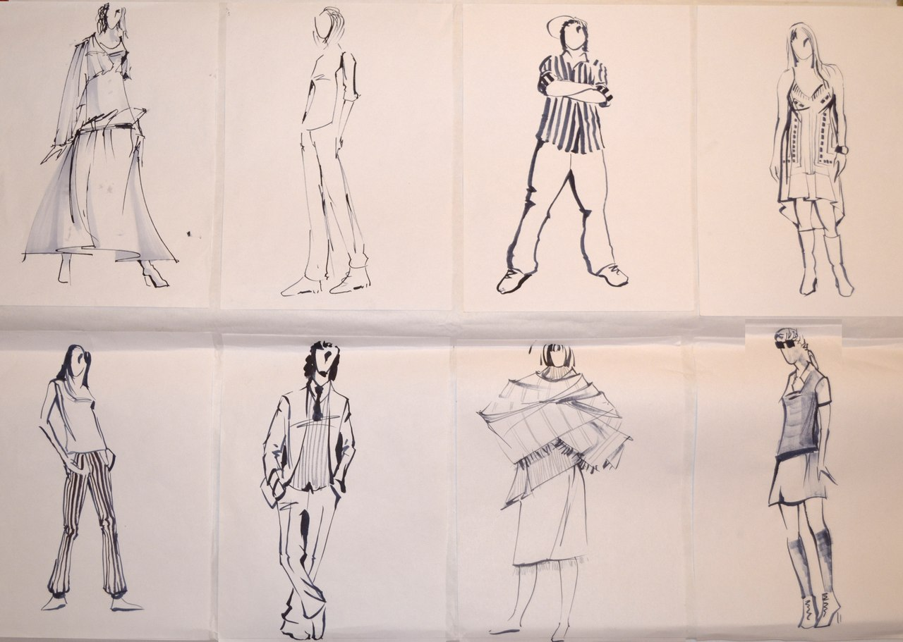 Схема человек в движении фото