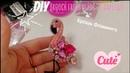 DIY Брошь Фламинго Брошь из бисера фламинго своими руками Brooch from beads flamingo