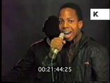 1980s Hip Hop, K Rob &amp DJ High Priest Performance