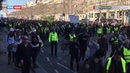Очередной митинг жёлтых жилетов приурочен к трехмесячной годовщине с начала протестов