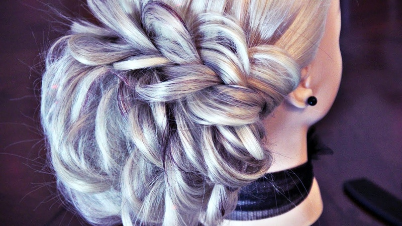 Beautiful hairstyle with braid | Hairstyles by REM | Copyright ©