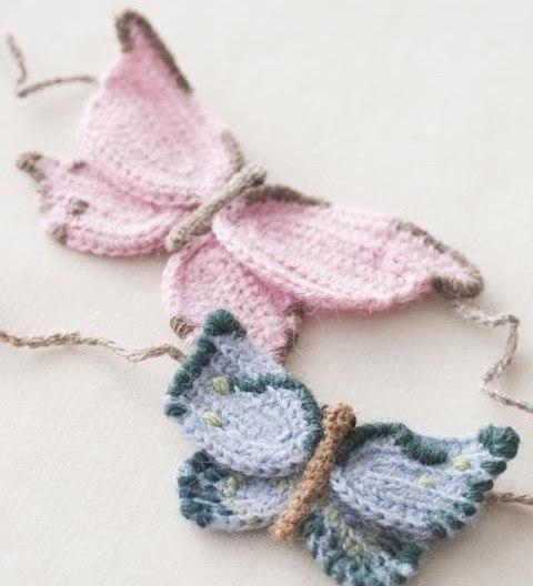 Вяжем бабочек