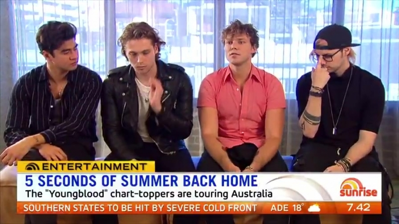 We sent @natalie_barr to sit down with @5sos ahead of last night's concert in Sydney!