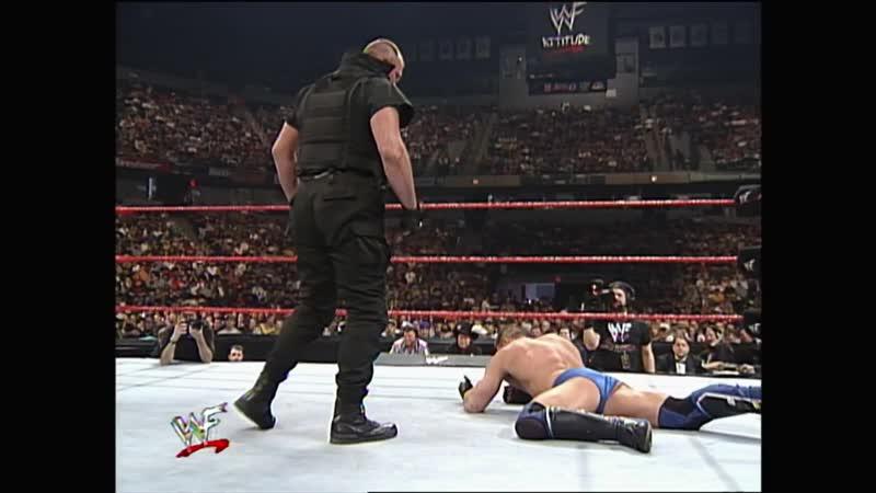 WWF Raw Is War 19 04 1999 Ken Shamrock vs Big Boss Man