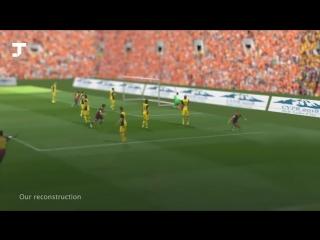 Американский разработчик воссоздал футбольные матчи в 3D