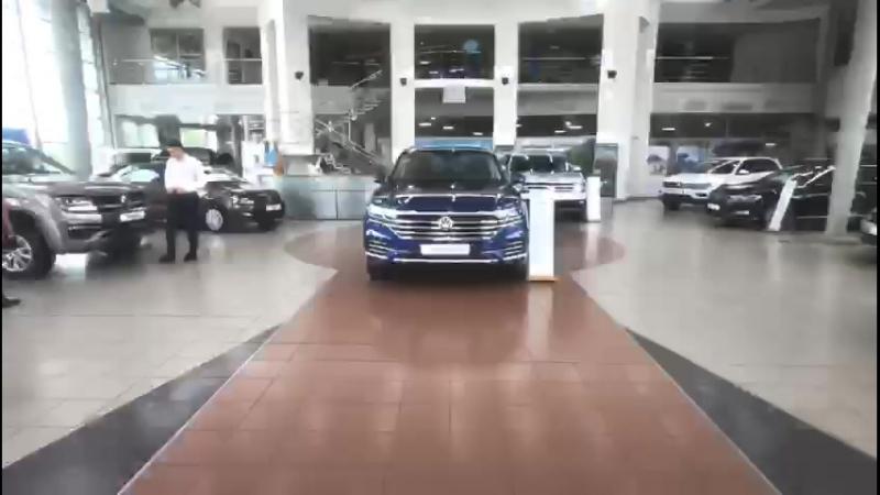 НОВЫЙ Volkswagen Touareg в шоу руме Автоцентр Керг Уфа