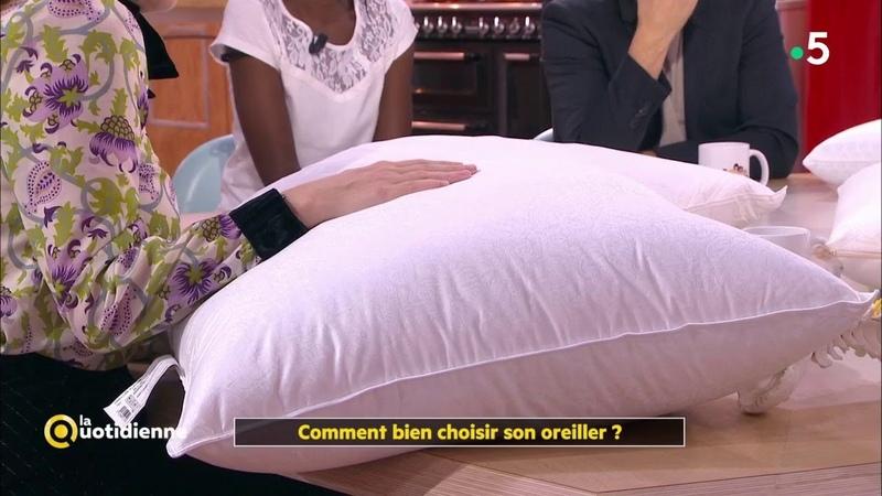 Comment bien choisir son oreiller ? - La Quotidienne