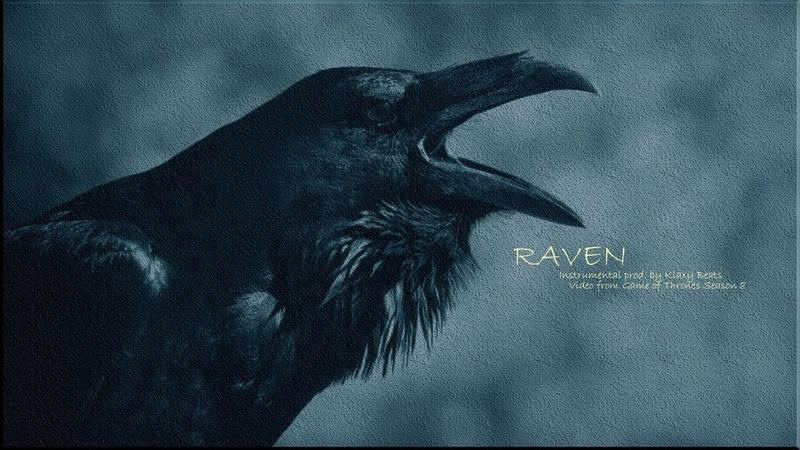 Raven 90s old school hip hop dark guitar instrumental boom bap underground rap beat by klaxy beats
