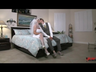 [sally d'angelo] - fucking grannies ass on her wedding day taboo anal