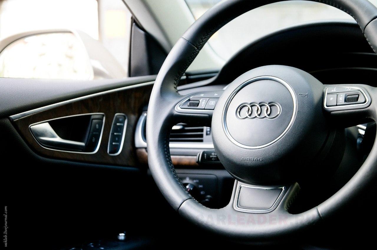 Audi A7 steering