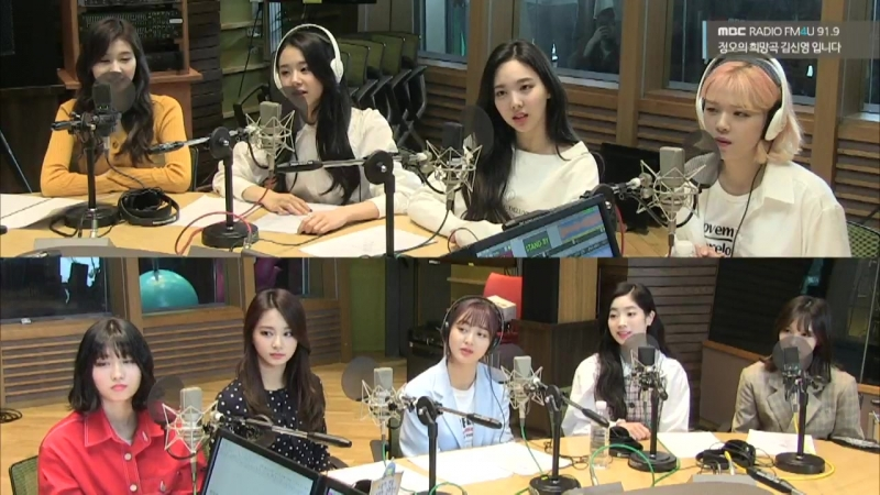 180413 TWICE @ MBC FM4U Jung Oh's Hope Song Radio