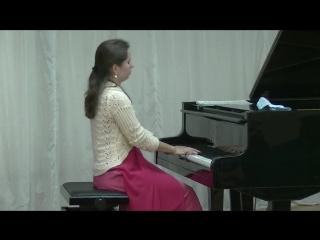 Татьяна Ерофеева (скрипка) и Анна Ерофеева (фортепиано).Кондопога 4 июня 2018.5
