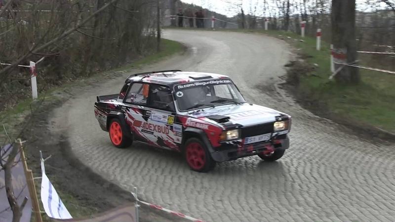 45 Rajd Świdnicki Krause 2017 Biegun Olejniczak Lada VFTS MaxxSport