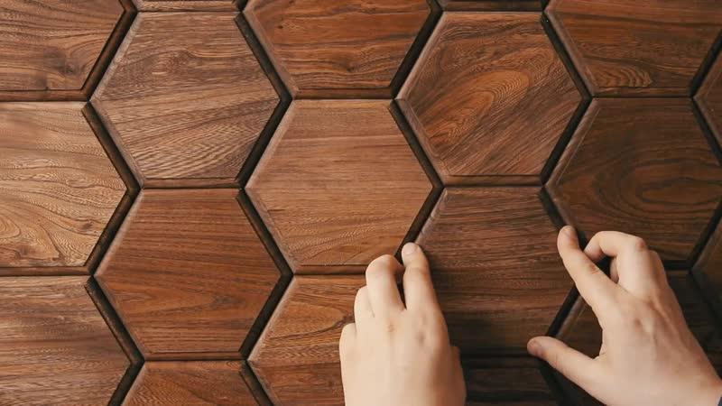 KARAGACH design - деревянная плитка из массива дерева карагач от производителя.