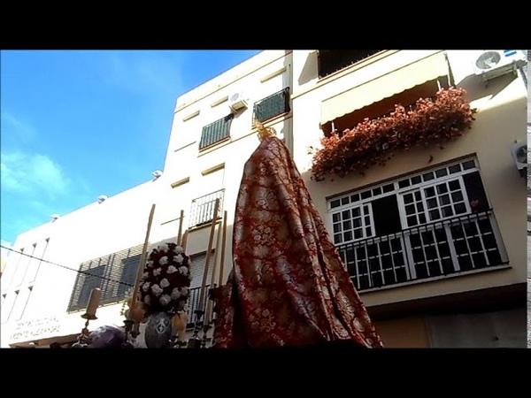 Martes Santo 2019 ALHAURIN de la TORRE marcha La SAETA AM Los Moraos JESUS CAIDO 16 04