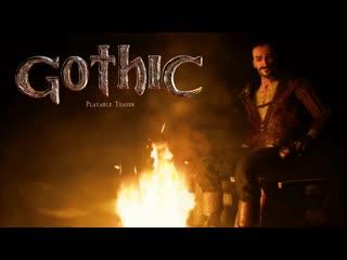 Gothic playable teaser trailer