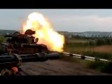 АТО сейчас: ТАНКОВЫЙ ОБСТРЕЛ позиций ополчения Донбасса! Новости Украины сегодня