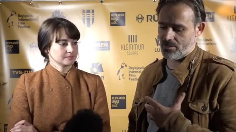 Интервью в рамках кинофестиваля «Riff» 3