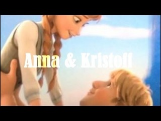 Anna and Kristoff ~God damn you're beautiful (Frozen)