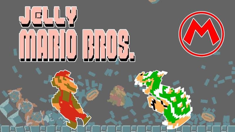 Jelly Mario Bros. (PC) | 50 оттенков Марио