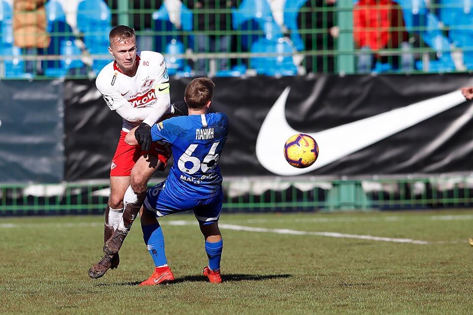 «Спартак» проиграл «Динамо» в матче молодежных команд (Видео)