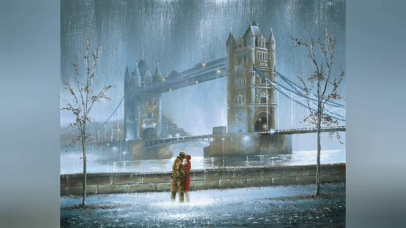Замок из дождя - Дождь - Кватро - Картины Джеффа Роуланда - песни о любви