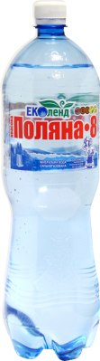 "Мінеральна вода ""Поляна Квасова-8"", Еколенд, 1.5 л"
