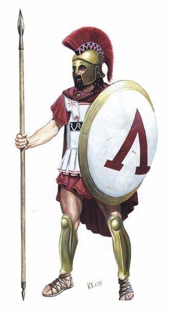 Спарта всегда славилась лучшей сухопутной армией в Греции. Гоплиты Спарты всю св...