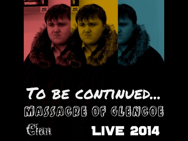Massacre of Glencoe (live 2014) - with lyrics