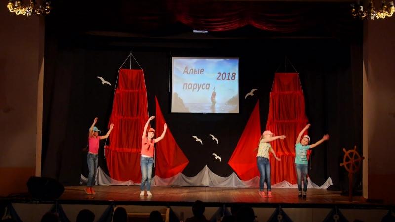 Танец Мы маленькие дети младшая группа танц студии Акварель ДКЕвстюниха