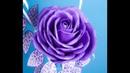 DIY Бесплатный МК. Роза для светильника из 80 см изолона. DIY rose for floor lamp of 80cm isolon