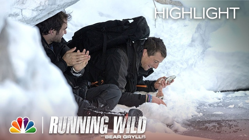 Frozen Dinner - Running Wild with Bear Grylls (Episode Highlight)