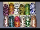 Marianne Nails NEW Professional Stamping Plate 15 Mandala Review Swatches