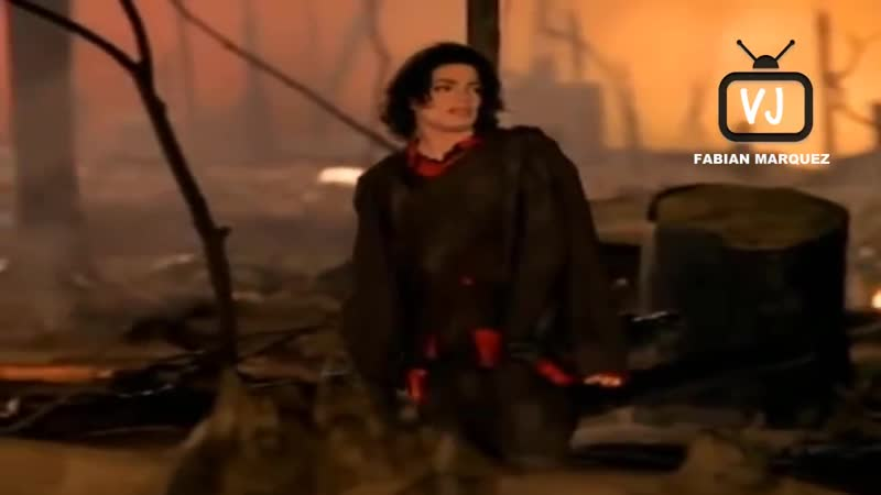 Michael Jackson Earth Song (Vj Fabian Marquez Video Remix Cosmic Dawn Remix)