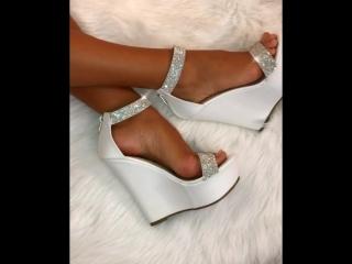 Miami Doll White Diamante