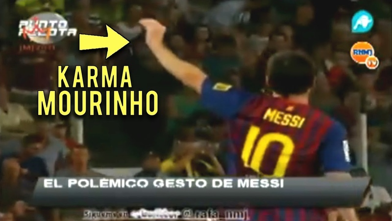 Lionel Messi Shuts Up Jose Mourinho Real Madrid After They Provoked Him Instant karma
