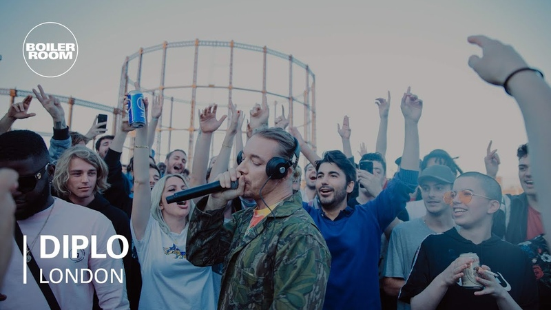 Diplo Rooftop Party Mix | Boiler Room HQ