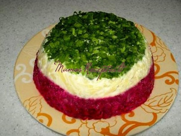 салат из свёклы с сыром рецепт с фото