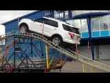 Новый Ford Explorer тест драйв в Тушино